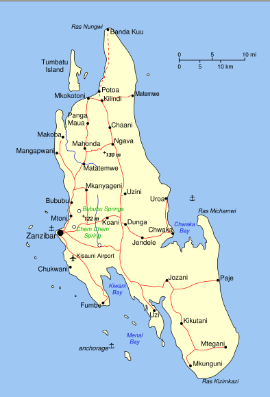 kart over zanzibar Dit krydderet bor og peppern gror – ditpepperngror kart over zanzibar